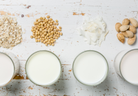 Different types of milk available in the market